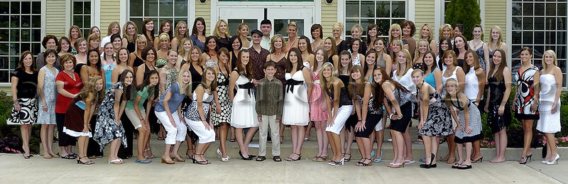 This image was used by The Coal City Courant, Coal City  Illinois, on June 20th, 2007 as part of an article on The On Broadway Dancers of Coal City, Illinois. The On Broadway Dancers and Broadway Dance Center held an alumni dinner at The Dwight Country Mansion, Dwight Illinois, in celebration of their 20 years as a dance company..