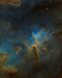 The Heart of the Heart Nebula
