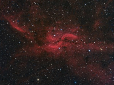 DWB 111 The Propeller Nebula