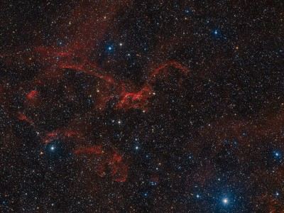 Sh2-114 The Flying Dragon Nebula