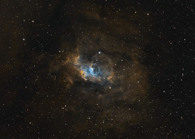 NGC7635 The Bubble Nebula