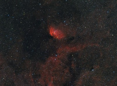 Sh2-101 The Tulip Nebula