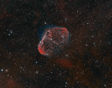 NGC 6888 The Crescent Nebula