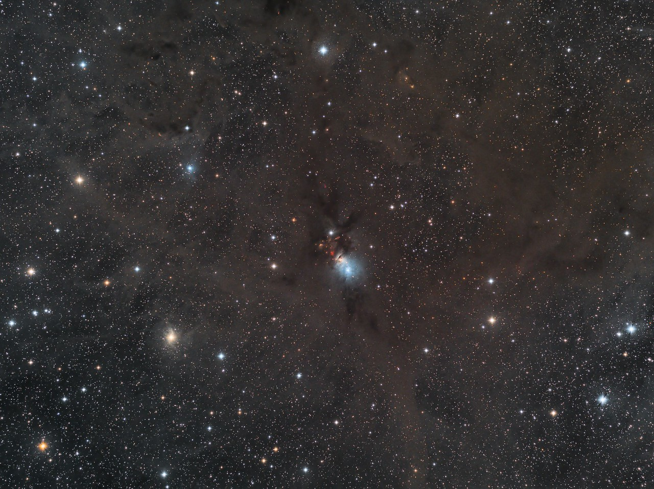 NGC1333 . . . amidst a sea of dust