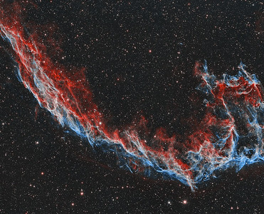 NGC6995 The Eastern Veil Nebula