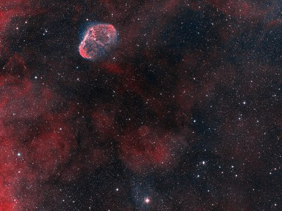 NGC6888 The Crescent Nebula