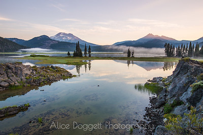 Sparks Lake Color, Central Oregon