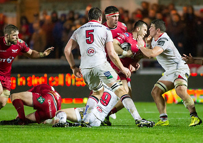 Scarlets v Ulster - Guinness PRO12 - Friday 6th January 2017
