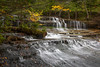 Au Train Falls:  Upper peninsula of Michigan