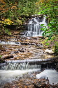 Wagner Falls:  Michigan