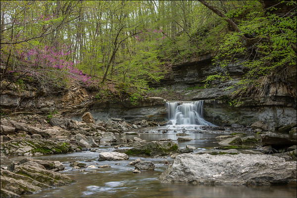 McCormick's Creek Waterfall:  Indiana