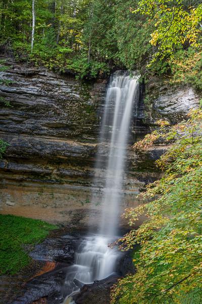 Munising Falls:  Munising, Michigan