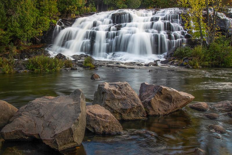 Bond Falls:  Upper peninsula of Michigan