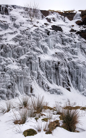 Ice cathedral: quarry near Loch Awe