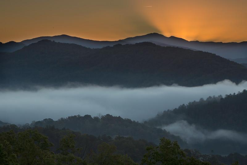 Sunrise Over Townsend