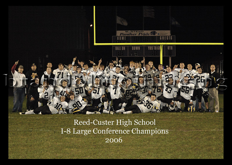 5x7 version of Conference Champion photo taken after the Manteno game....This is the image I provided to the Varsity Players and Trainers...