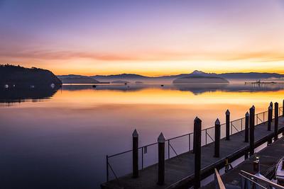 Fidalgo Bay At Sunrise