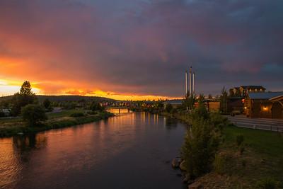 Thunderstorm Sunset - Bend, Oregon - 23