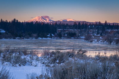 New Year's Sunrise in Bend