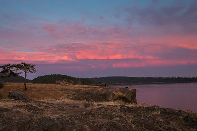 Alpenglow - Rosario Head, Deception Pass, WA