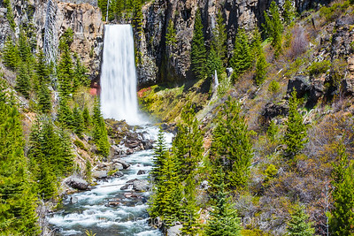 Tumalo Falls, Central Oregon (horizontal view)