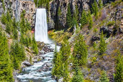 Tumalo Falls, Central Oregon (horizontal view)