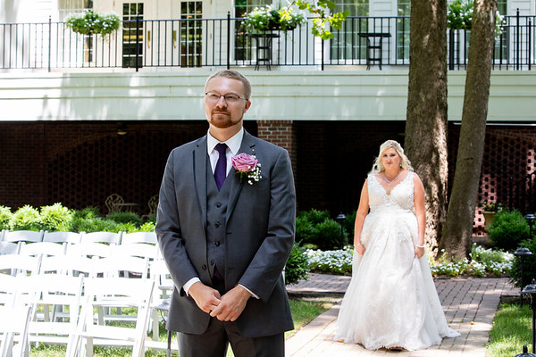 Roeder - First Look with Bride & Groom