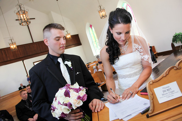 Graham - Signing Marriage Contract