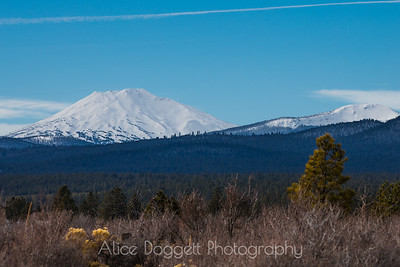 Mount Bachelor and Tumalo Mountain, Bend, OR