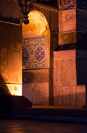 Ottoman tiling, Hagia Sophia