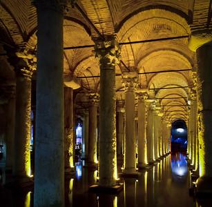 The Roman Basilica Cistern, Istanbul