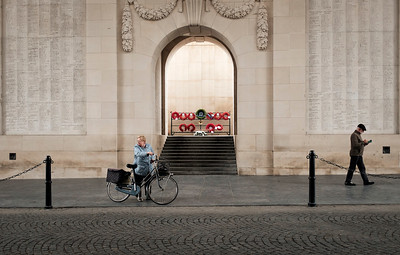 Passing through (Menin Gate, Ypres)