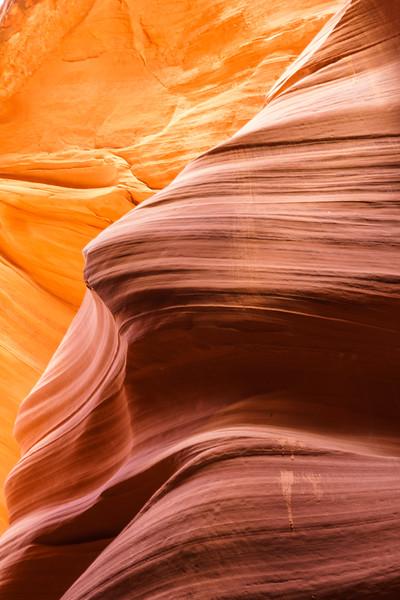 Antelope Canyon - a slot canyon within the Navajo Nation, Page, Arizona