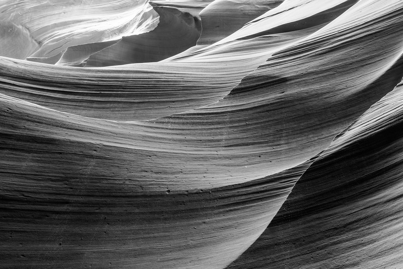 Antelope Canyon - a slot canyon within the Navajo Nation, Page, Arizona
