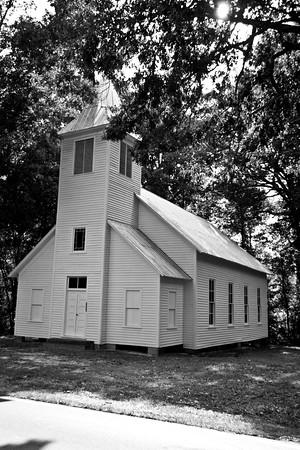 Melanchthon Lutheran Church (organized 1890) - Just outside of Liberty / Grays Chapel, North Carolina