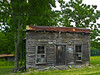Remnant of an old farm store located in Snow Camp, North Carolina