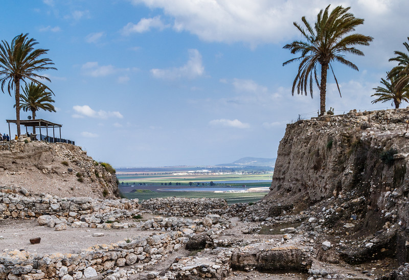Megiddo overlooking the Jezreel Valley