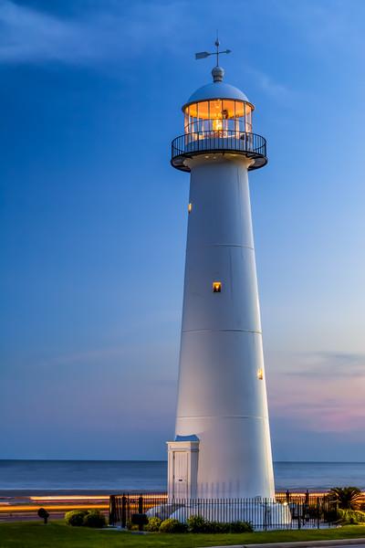 """""""Biloxi Lighthouse"""" - Biloxi, Mississippi"""