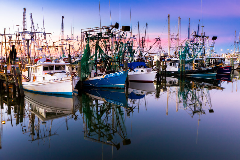 """Harbor Sunrise"" - Pass Christian, MS"