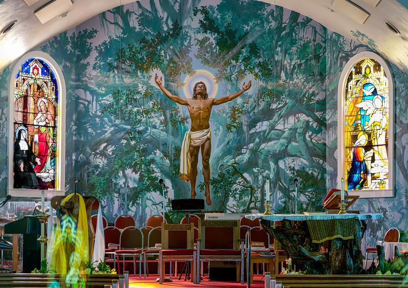 St. Rose De Lima Catholic Church Interior