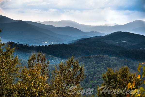 Overlooking BlueRidge