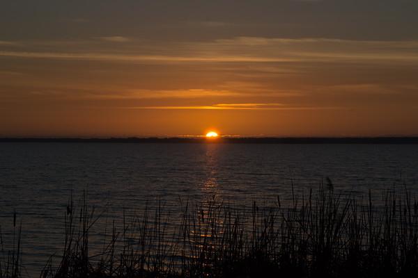 Sunset at Lake Mattamuskeet