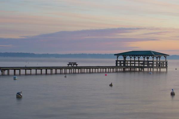 Pier at Lake Waccamaw, North Carolina