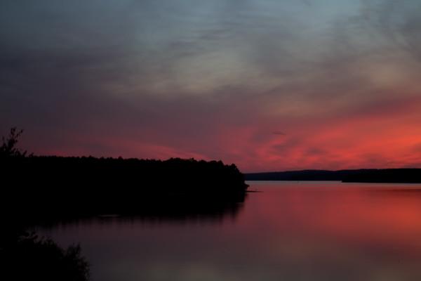 Sunset Over Jordan Lake 6