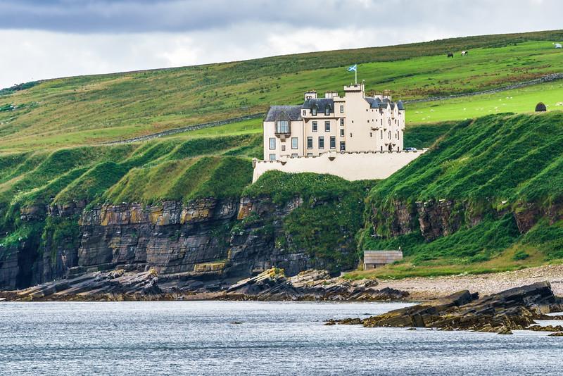 Dunbreath Castle - Caitheness, Scotland