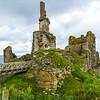 Castle Sinclair Girnigoe overlooking the Bay of Sinclair - Caithness, Scotland