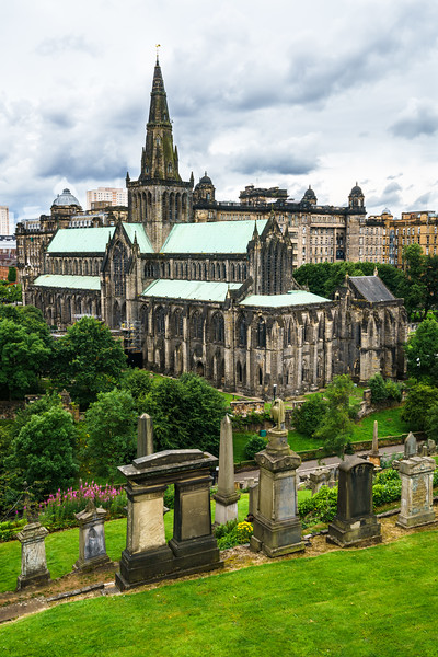 Glasgow Cathedral (St. Mungo's Cathedral) - Glasgow, Scotland