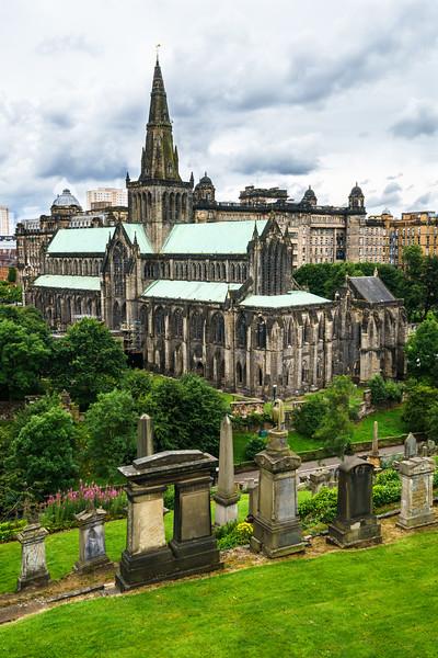 Glasgow Cathedral (St. Mungo's Cathedral) - Glasgow, Scotland