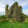 Interior Courtyard Castle Sinclair Girnigoe - Caithness, Scotland