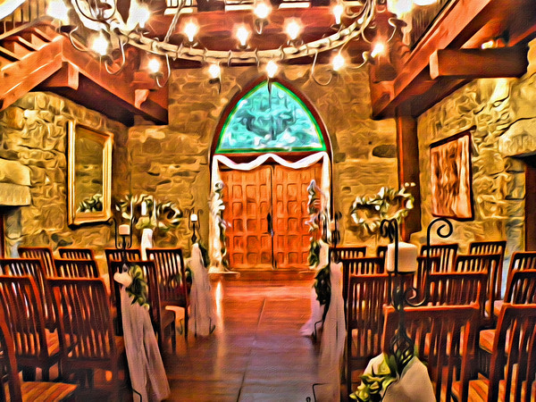 Wedding at Castle McColluch in Greensboro, North Carolina